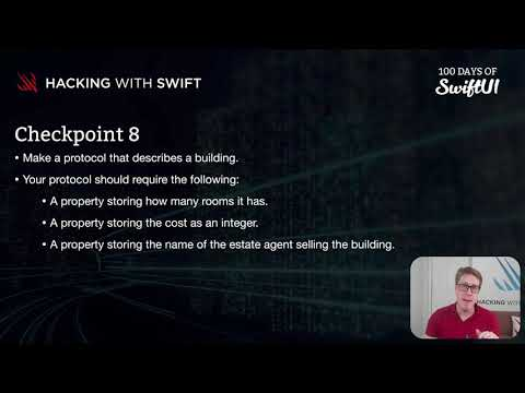 Checkpoint 8 – Swift for Complete Beginners thumbnail