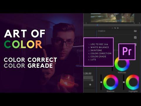 KOLOR KOREKCIJA - proCES - Adobe premier pro