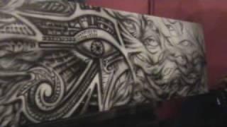 Eye Of Ra Horus Egyptian Art Airbrushed REVERENCE