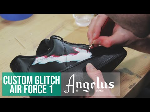 Video Thumbnail of Nike Air Force 1 Glitch Custom.