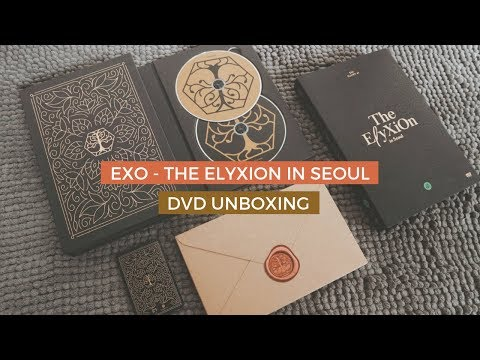 ✨unboxing exo - the elyxion in seoul dvd ✨