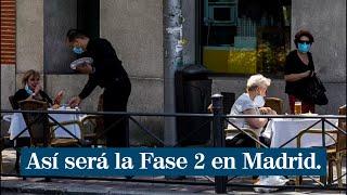 Así será la Fase 2 en la desescalada de Madrid