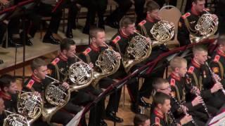 «Арабский танец» в исполнении оркестра суворовцев МВМУ (29.10.2016)