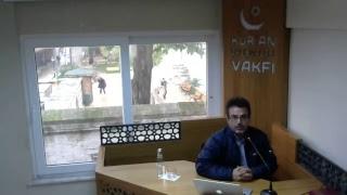 """Prof. Dr. Murat SÜLÜN """"41 Temsil İle Kur'an-ı Kerim Gerçeği"""" 04.11.2017"""