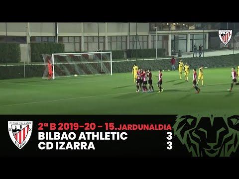 ⚽ Resumen I J15. 2ªDiv. B I Bilbao Athletic 3-3 CD Izarra I 2.B Maila 15.J I Laburpena