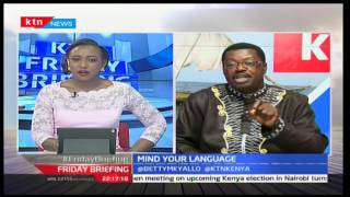 Mind your language: Willice 'The Word master' Ochieng'