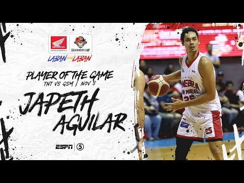 [Sport5]  Best Player: Japeth Aguilar | PBA Governors' Cup 2019