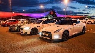 Что могут BMW M5 против NISSAN GT-R!!!   DRAG ROLL-ON  GTR vs БМВ M5