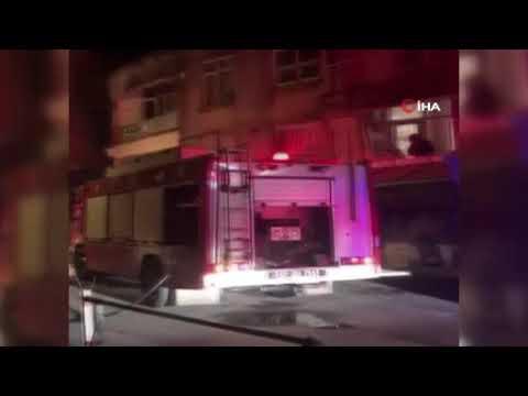 Antalya'da tarihi Balbey'de yangın