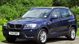 preview picture of video 'BMW X3 Xdrive20d SE now sold by Taylors Pitstop Garage in Horley West Sussex'