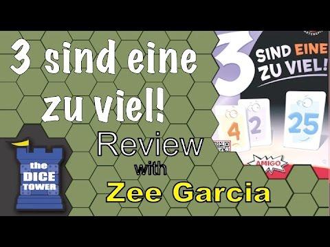 The Dice Tower reviews 3 sind eine zu viel!