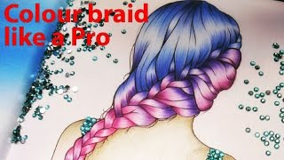 How To Colour Braid Like A Pro! Colour Like Kristina Webb | Prachi Gajjar