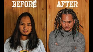 preview picture of video 'Getting dreadlocks |FameUnisexSalon|'