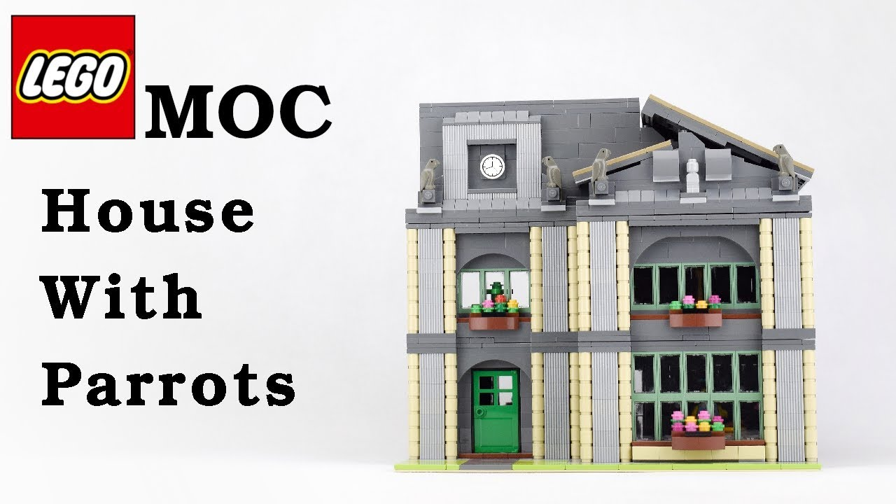 Lego MOC - House With Parrots
