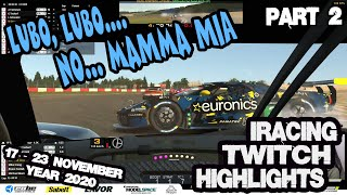 iRacing Twitch Highlights 20S4W10P2 17-23 November 2020 Part 2 Funny moves saves wins fails