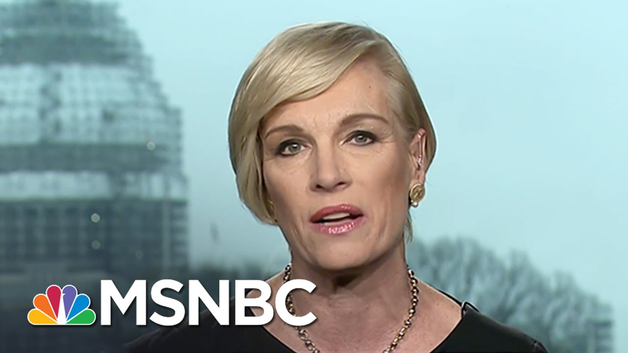 Cecile Richards Shares Her Support For Clinton In Texas | Andrea Mitchell | MSNBC thumbnail