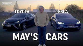 James May reviews his own cars – Tesla Model S vs Toyota Mirai