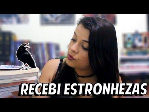 Recebi Livros Estronhos - Unboxing