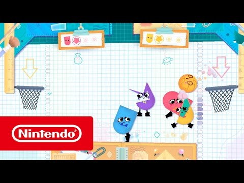 Snipperclips – Cut it out, together! - Blitz Mode (Nintendo Switch) thumbnail