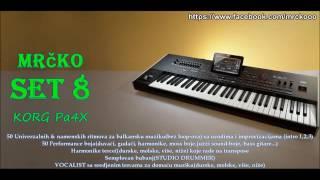 MRCKO SET 8  (only PA4X)