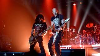 Accept Solo Bass Princess of the dawn ending Live PPM 2012