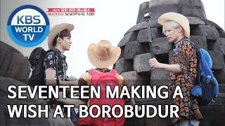 Seventeen making a wish at Borobudur [Battle Trip/2019.07.14]