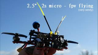 "2.5"" 2s micro - fpv flying"