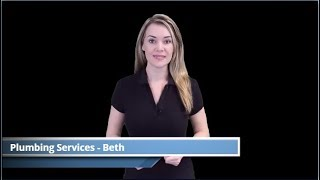 Plumbing Services - Beth