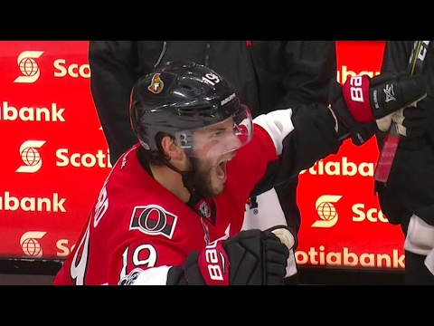 Senators score twice in final 4 minutes to tie game late
