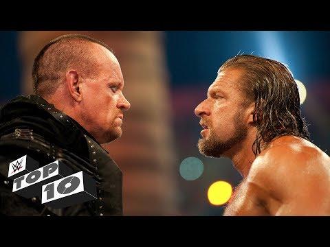 Greatest Undertaker vs. Triple H showdowns: WWE Top 10, Sept. 24, 2018 (видео)