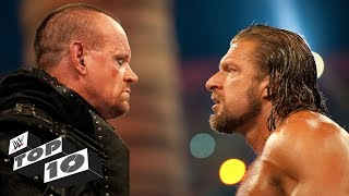 Greatest Undertaker vs. Triple H showdowns: WWE Top 10, Sept. 24, 2018 - Video Youtube