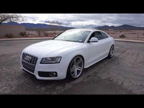 "Short review: Audi A5 3.2L V6 w/ Verde Parallax 20"" wheels"