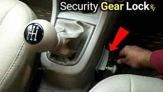 Car security gear lock || by city to village