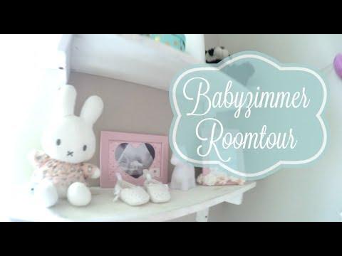 Babyzimmer Roomtour/ Mädchenzimmer/ Elefanten-Sternen Thema