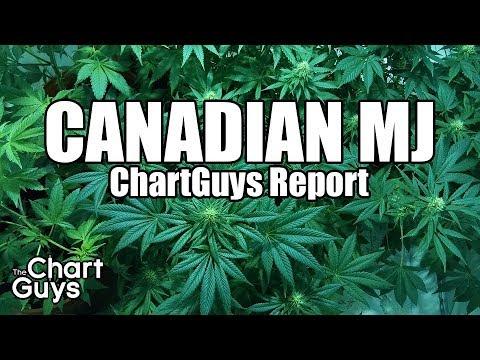 Canadian Marijuana Stocks Technical Analysis Chart 5/5/2018 by ChartGuys.com