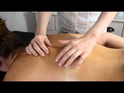 Die unerträglichen Schmerzen im Hals und dem Rücken