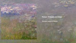 Ponce - Preludio in E Major