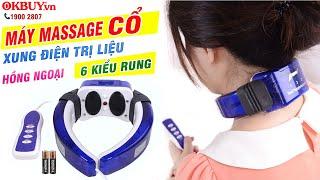 Video máy massage cổ miếng dán trị liệu xung điện trị liệu Hàn Quốc PULI PL-718