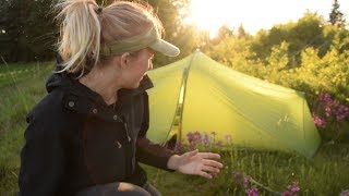 Review tält, sovsäck och liggunderlag