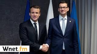Mistewicz o wizycie Macrona w Polsce: Jest szansa na reset lub zamrożenie relacji polsko-francuskich