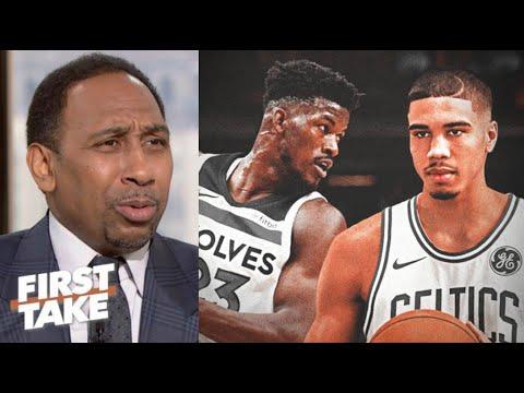 "Stephen A. ""strong reacts"" Miami Heat beat Boston Celtics Game 1 despite Jayson Tatum 30 Pts"