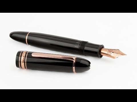 Montblanc 149 Meisterstück 90th Anniversary Fountain Pen Review