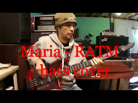 Maria - Rage Against the Machine (Tim Commerford) bass cover