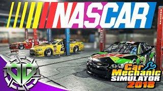 Junkyard Rebuild - NASCAR Chevrolet SS Race Car MOD - Car