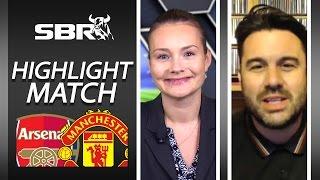 Arsenal Vs Manchester United 04/10/15  Premier League Highlight Match Betting