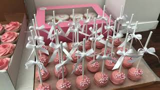 Christening Cakes Cake Pops And Biscuits