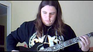 fear factory-dog day sunrise (guitar cover)