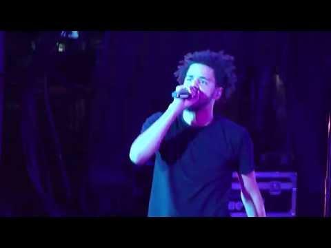 J. Cole - 03' Adolescence live @ Forest Hills Drive Tour, San Francisco [HD]