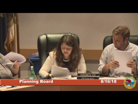 Planning Board 8.16.2018