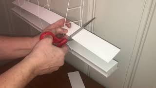 "Shorten 2"" faux wood Cordless Venetian Blinds in Six Easy Steps! How to"